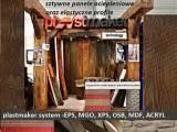 stropy drewniane IMITACJA DREWNA NA WYMIAR - Imitacja cegły kamienia drewna elastyczne panele elewac