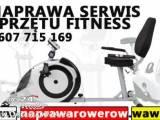 Serwis Rowerów fitness Warszawa - Sprzęt siłowy - atlasy - orbitreki - rowery - siłownia fitness - R