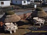 Piękne parasole ogrodowe z trzciny (strzecha do hotelu, karczmy, reastauracji,baru,ogrodu,na plażę i