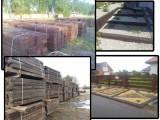 Ręcznie sortowane podkłady kolejowe drewniane (szwele)