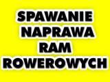 Spawanie/Naprawa Ram Rowerowych - Naprawy Powypadkowe Rowerów - Mazowsze