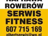 Naprawa rowerów i sprzętu fitness / Naprawiamy sprzęt w domach oraz w firmach