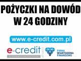 Pożyczki na dowód w 24 godziny - Bez BIK. Chwilówki On-line.