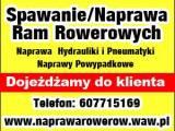 Rowerowe Spawalnictwo Specjalistyczne.Magdalena i Albert Młynarczyk.Dojeżdżamy do klienta .Zapraszam