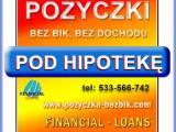 Pożyczka pozabankowa bez bik pod hipotekę
