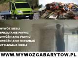 Wywóz gabarytów i opróżnianie mieszkań 797 327 584