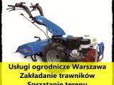 Usługi ogrodnicze Warszawa,Zakładanie trawników,Sprzątanie terenu
