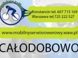 Mobilny Serwis Rowerowy Konstancin/Warszawa/Piaseczno/Józefosław.POGOTOWIE ROWEROWE.Magdalena i Albe