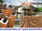 Imitacja drewna na elewacji deska elewacyjna PLASTMAKER