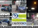Naprawa,serwis,przeglądy,dojazd do klienta,Serwis Mobilny naprawa Rowerów Konstancin