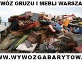 Wywóz gruzu i mebli Warszawa