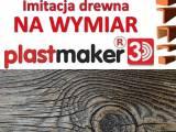 Imitacja drewna na wymiar , imitacja deski elewacyjnej. Plastmaker