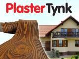 Okładzina elewacyjna PlasterTynk ,imitacja drewna
