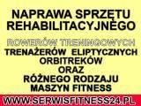 Rowery stacjonarne - Orbitreki  - Naprawa ,Serwis Sprzętu FITNESS Warszawa - RABAT DO 40%