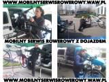 Rowery Konstancin Warszawa Naprawa Serwis Mobilny Serwis Z Dojazdem |  ROWEROWA POMOC DROGOWA-24h |