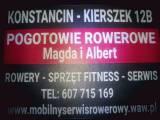 POGOTOWIE ROWEROWE MAGDY I ALBERTA Konstancin Piaseczno Warszawa
