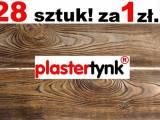 Elastyczna deska elewacyjna imitacja drewna PLASTER TYNK