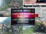 Mobilny serwis rowerowy / Spawanie ram,serwis rowerowy,Konstancin Piaseczno Karczew Grójec / Pogotow