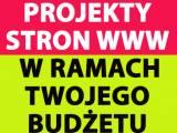 Projekty stron WWW, w ramach Twojego budżetu