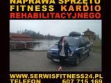 Naprawa sprzętu kardio - fitness - rehabilitacyjnego KAŻDY MODEL SPRZĘTU LUB URZĄDZENIA
