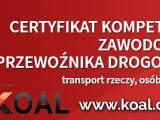 dokumenty do licencji TRANSPORTOWEJ, kurs LUBLIN / LICENCJA transportowa /spedycyjna / CERTYFIKAT ko