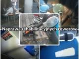 Naprawa rehabilitacyjnych rowerów poziomych oraz trójkołowych / Rotorów rehabilitacyjnych do ćwiczeń