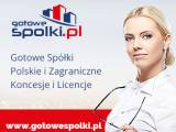 Gotowe Spółki Akcyjne 603557777 KONCESJA NA HANDEL PALIWAMI OPC, Gotowe Spółki z VAT EU, Gotowe Fund